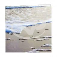 Wenskaart Vlieland Branding op het Strand