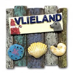 Magneet Polystone Vlieland Wandbord