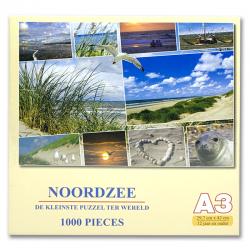 Legpuzzel Noordzee 1000 stukjes