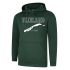 Hooded Sweater Bottle Green Vlieland is calling... and i must go!