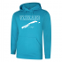 Hooded Sweater Sapphire Blue Vlieland is calling... and i must go!