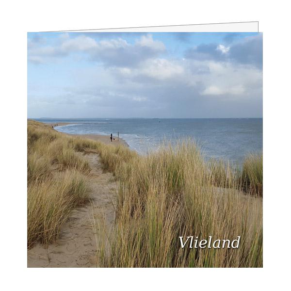Wenskaart Havenstrand Vlieland